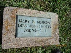 Mary Etta <I>Feagins</I> Ammons