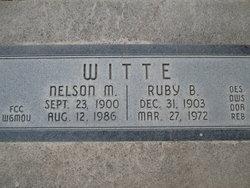 Ruby Belle <I>Ross</I> Witte