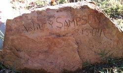 "William ""wiley"" Sampson Sr."