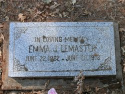 Emma June <I>Priest</I> LeMaster