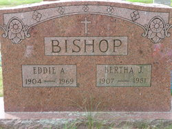 Bertha Josephine <I>Chamberlain</I> Bishop