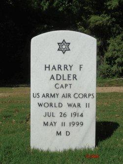 Harry F Adler