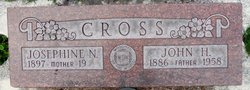 Josephine Bella <I>Nelson</I> Cross