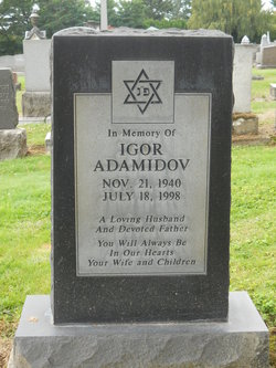 Igor Robert Adamidov