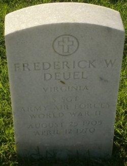 Frederick W Deuel