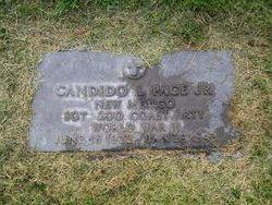 SGT Candido L Page Jr.