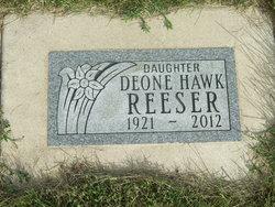 Deone H <I>Hawk</I> Reeser