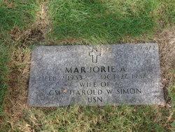 Marjorie A Simon