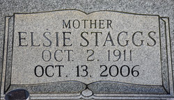Elsie A <I>Staggs</I> Luna
