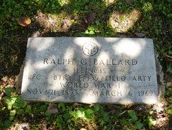 Ralph G Ballard