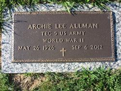 Archie Lee Allman