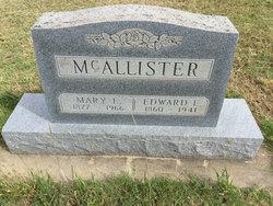 Edward E McAllister