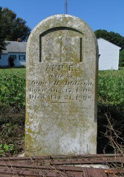 Ann R <I>Scarburgh</I> Addison