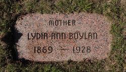 """Lydia Ann """"Annie"""" <I>Martin</I> Boylan"""