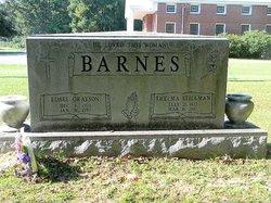Thelma <I>Stillman</I> Barnes