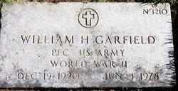 William H Garfield