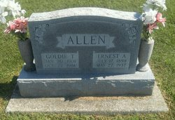 Goldie <I>Thurston</I> Allen
