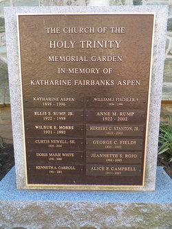 Holy Trinity Memorial Garden