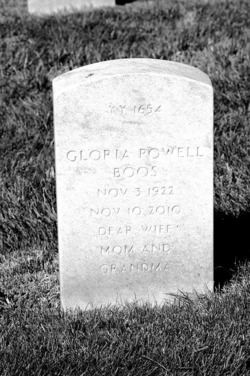 Gloria M. <I>Powell</I> Boos