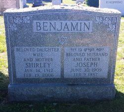 Joseph Harold Benjamin