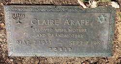 Mrs Claire Arafe
