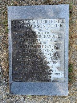 Kate <I>Jackson</I> Dozier