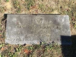 """Maria Beatrice """"Mary"""" <I>Brito</I> Andrade"""