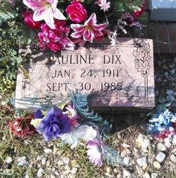 Pauline <I>Addison</I> Dix