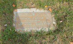 Thomas J Boyle, Jr