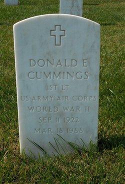 Donald E Cummings