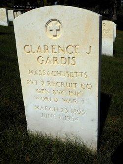 Clarence J Gardis
