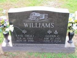 "Faye E. ""Bea"" <I>VanHorn</I> Williams"