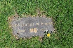 Rev Lucius W Bonds