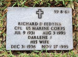 Richard D Fedyna