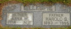 Harold S Gillespie