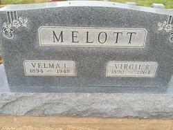 Velma L <I>Hanan</I> Melott