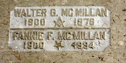 Fannie F. McMillan