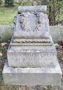 Susan <I>Willis</I> Carleton