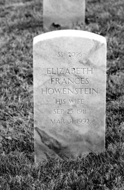 Elizabeth Frances <I>Bareswilt</I> Howenstein