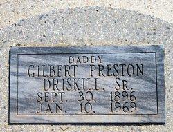 Gilbert Preston Driskill