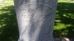 Lydia Meleta <I>Boyer</I> Johnson