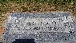 Bert Taylor