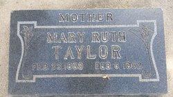 Mary Ruth Taylor