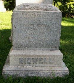 Mary <I>Scofield</I> Bidwell
