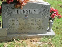Jennie Mary <I>Picarella</I> Hensley