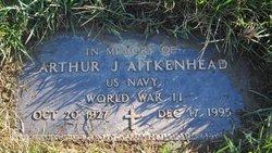 """Arthur James """"Bud"""" Aitkenhead"""