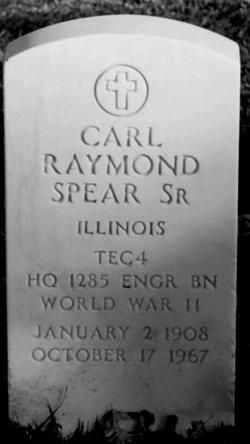 Carl Raymond Spear, SR