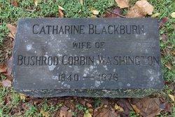 Catharine Thomas <I>Blackburn</I> Washington