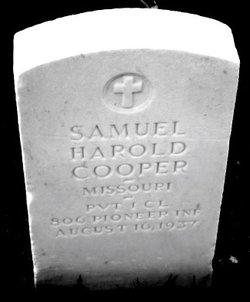Samuel Harold Cooper