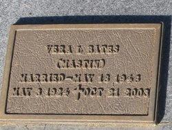 Vera L <I>Mastin</I> Bates
